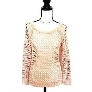 NWOT American Eagle Light Pink Sweater